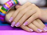 Как сделать красивый шеллак на коротких ногтях