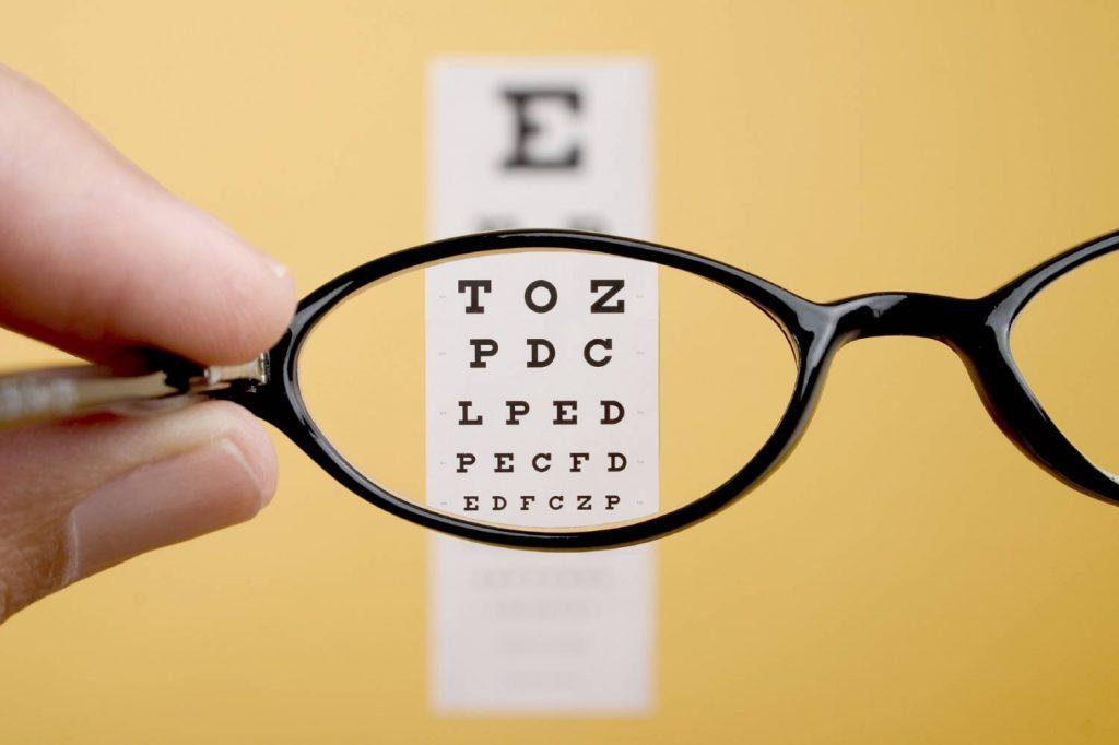 Очки не устраняют проблему
