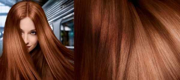 Длинные пышные волосы