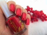 Модный красный маникюр осень-зима и весна-лето