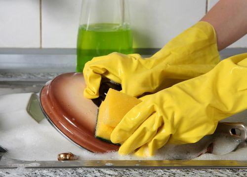 Резиновые перчатки для защиты ногтевых пластин