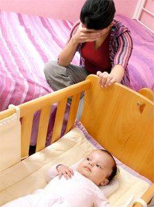 мама с малышем