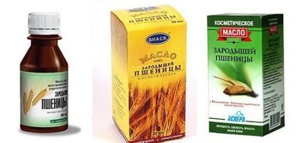 Масло пшеничных зародышей для волос
