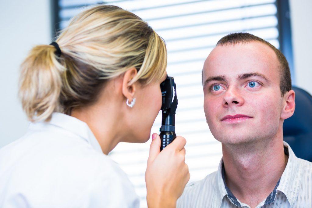 Степень болезни может определить только окулист