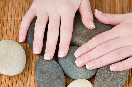 Ногти после обработки пилкой Scholl Velvet