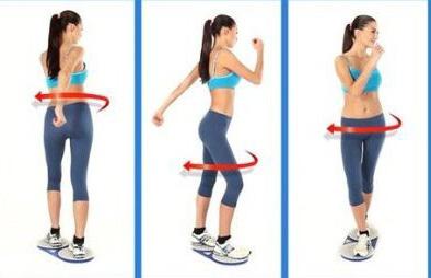 Диск здоровья. Упражнения не только для талии