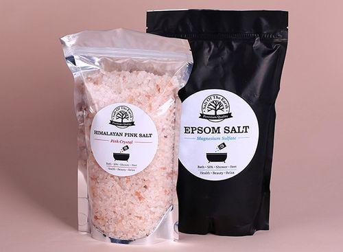 Английская соль в фольгированных пакетах