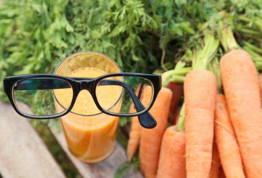 Морковь - самый полезный для зрения продукт
