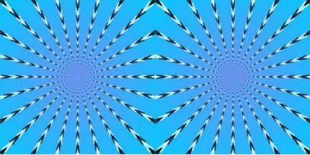Разглядывание данного изображение положительно влияет на работу глаз