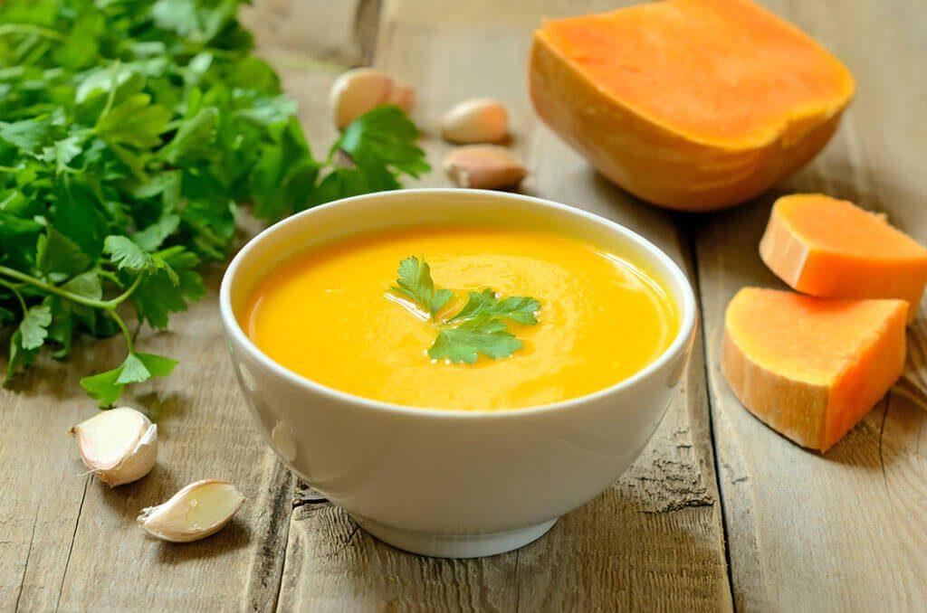 Простые рецепты приготовления супа-пюре из тыквы