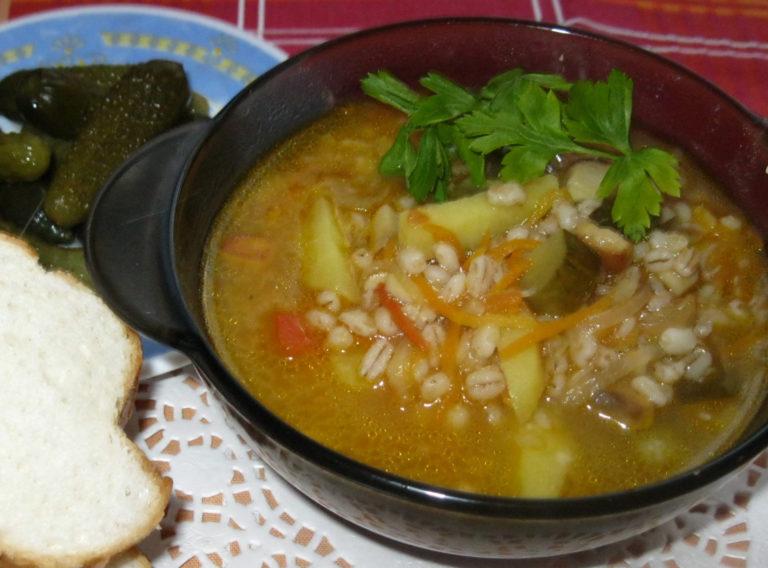 Рецепты рассольника с перловкой и солеными огурцами