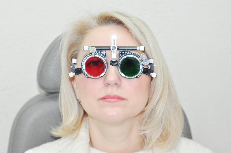 Очки для диагностики астигматизма и близорукости
