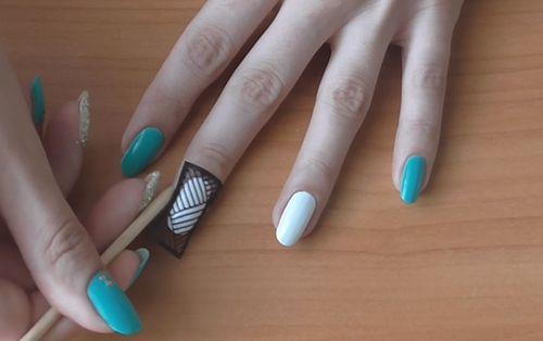 Инструкция как сделать трафареты для ногтей