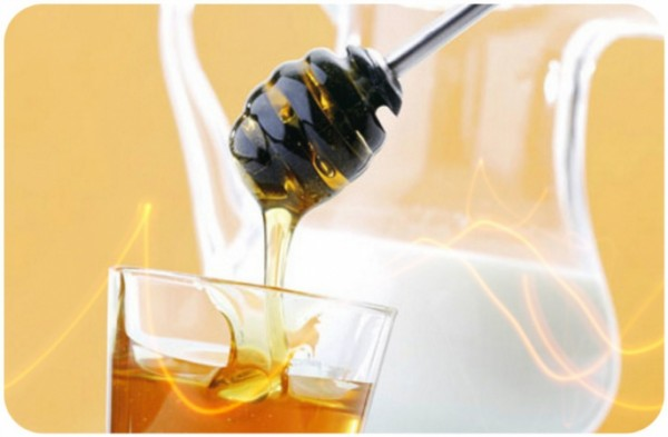 Маска с мёдом и кефиром