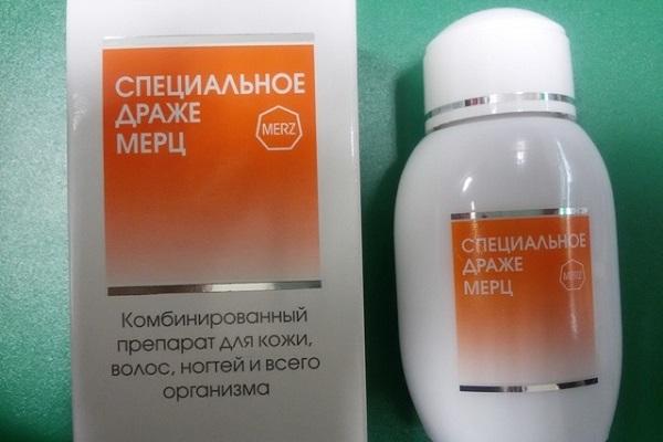 инструкция по применению витаминов МЕРЦ для укрепления волос