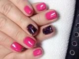 Шеллак на короткие ногти: несколько актуальных идей