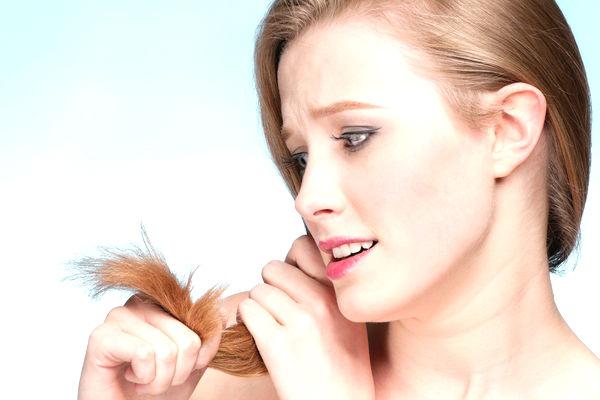 стресс и плохой рост волос