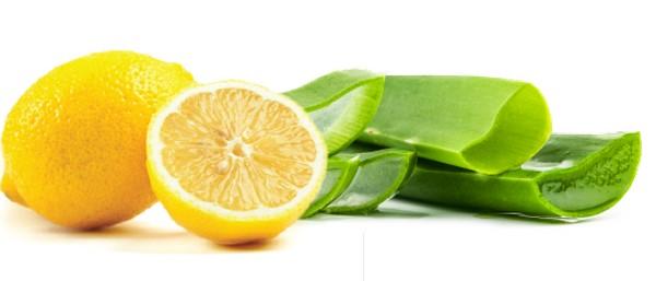 Алоэ с лимоном для волос
