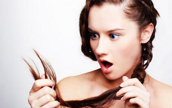 Секущиеся на кончиках волосы