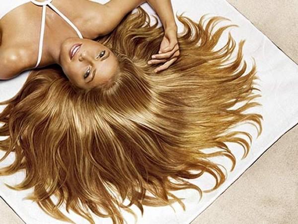 Роскошные женские волосы
