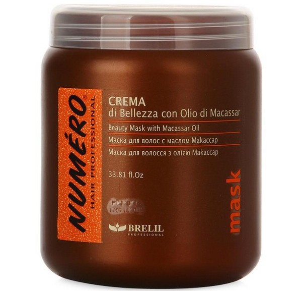 Beauty Mask With Macassar Oil