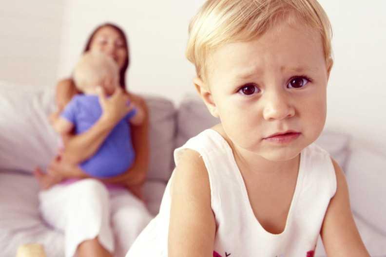 В 1год и 7 месяцев ебенок ревнует родителей к другим детям