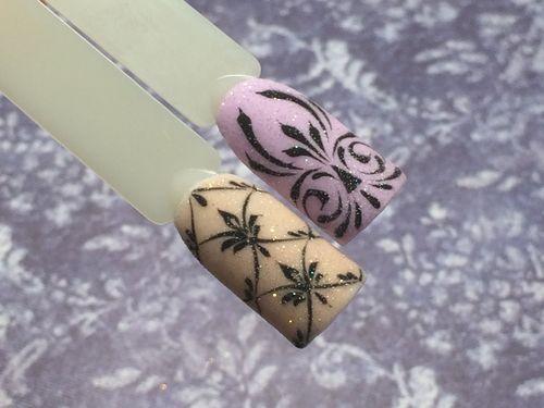 Мастер-класс по рисованию вензелей на ногтях