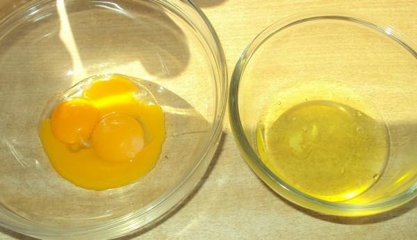 Яйцо для секущихся волос
