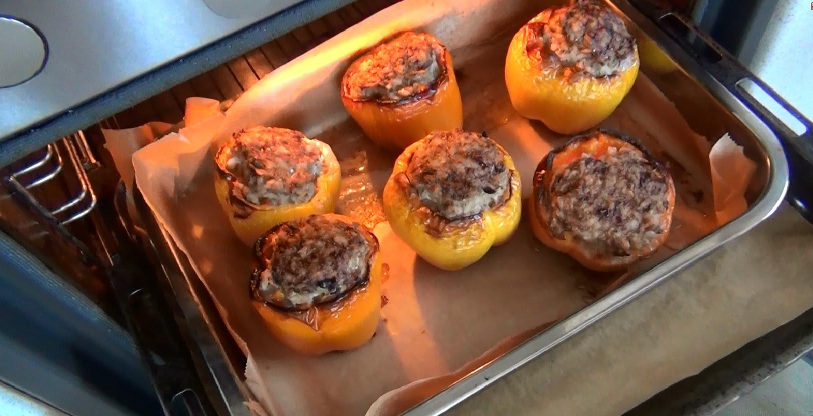 Вкусные рецепты фаршированных перцев в духовке