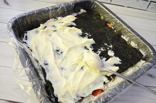 Суши торт. Пошаговый рецепт с фото