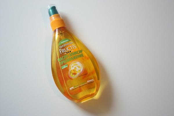 как правильно применять масло для волос Гарньер Фруктис