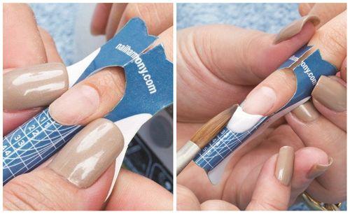 Описание техники наращивания ногтей акрилом