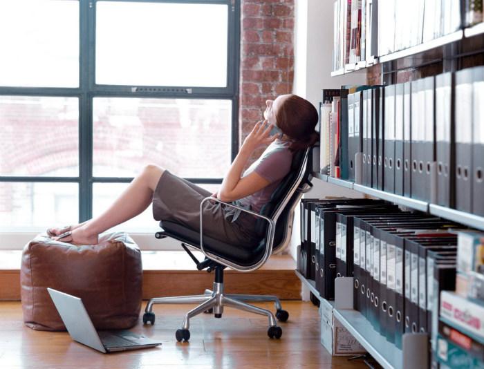 Проводить тестирование можно в любимом рабочем кресле