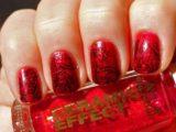 Идеи каким сделать черно-красный маникюр на ногтях