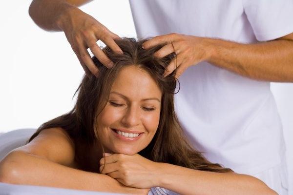 как делать массаж для укрепления корней волос