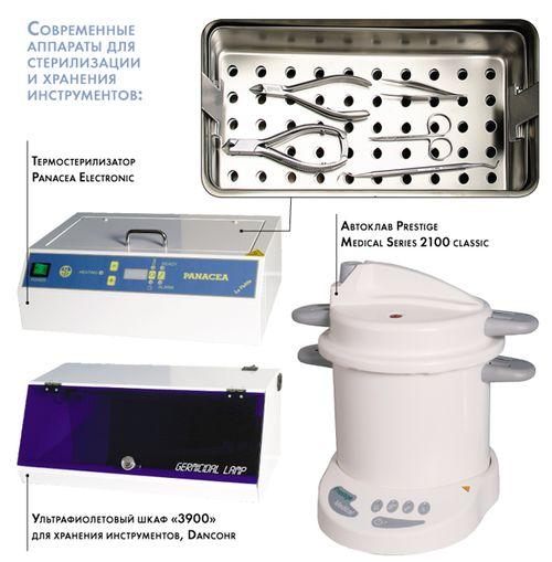 Приборы для стерилизации