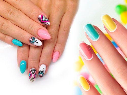Дизайн ногтей шеллаком