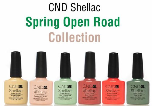 CND Shellac серия Open Road