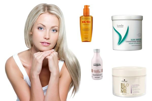рецепты масок для гладкости волос