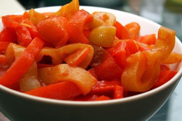 Вкусное лечо на зиму из перца и томатной пасты