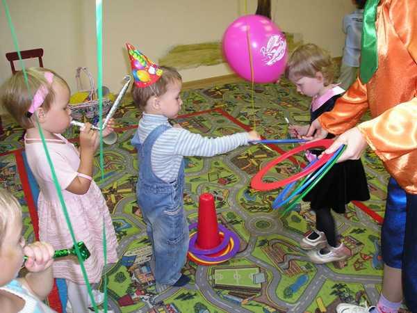 организация дня рождения ребенку 3 года