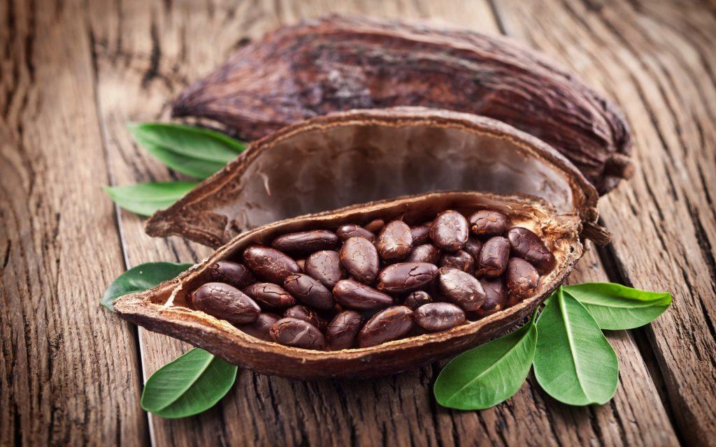 Какао бобы тонизируют глазные мышцы