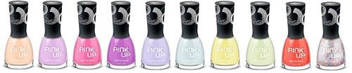 Ассортимент гель-лаков Pink up