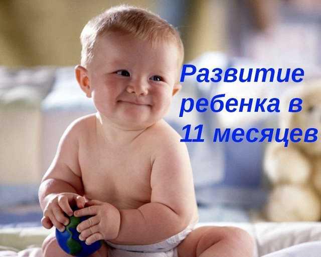 Развитие ребенка в 11 месяцев что должен уметь