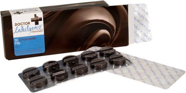 Таблетированный шоколад